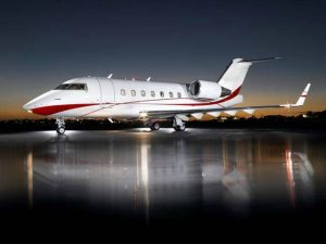 Stretch Out in the Bombardier Challenger 604