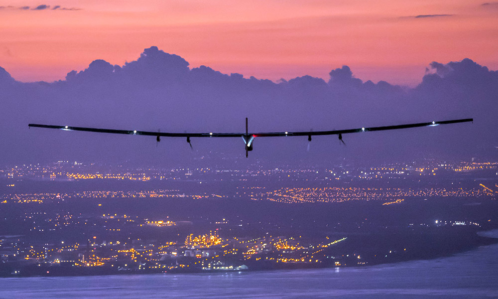 Pilots Fly Solar Impulse 2 Around the World, Break Ground for Innovation