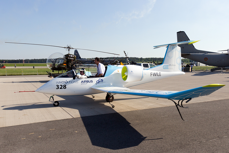Prototype Electric Aircraft