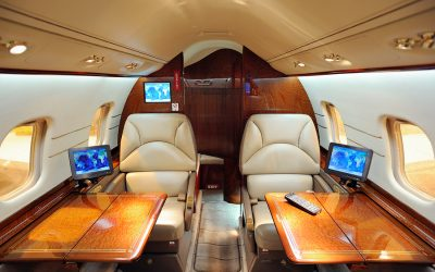 Business and Private Jet Technology Advances