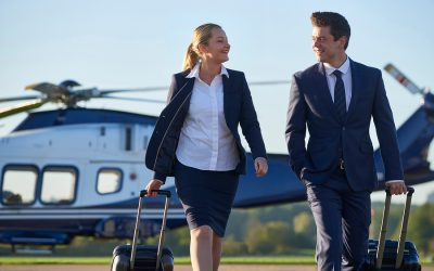 Rise Above the Competition — and Traffic — with a Corporate Helicopter