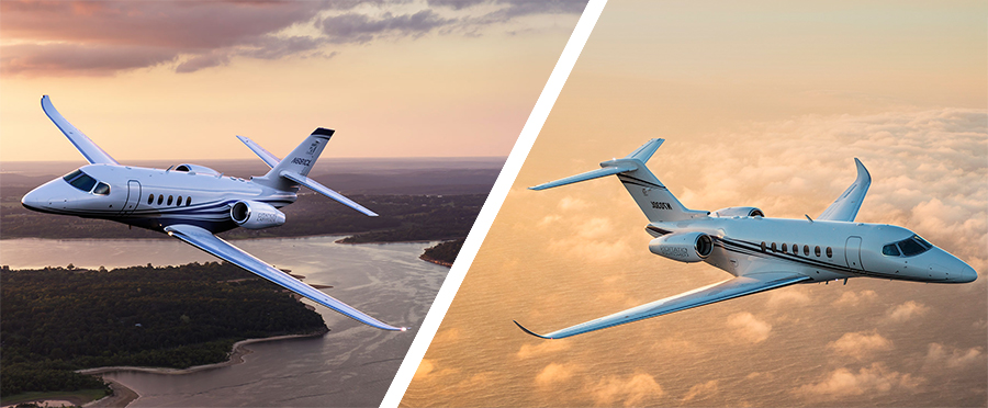 Cessna Steps Into the Spotlight with Citation Latitude and Longitude