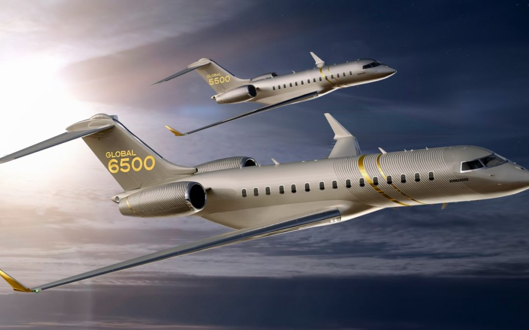 Bombardier Introduces New Global 5500, 6500, and 7500