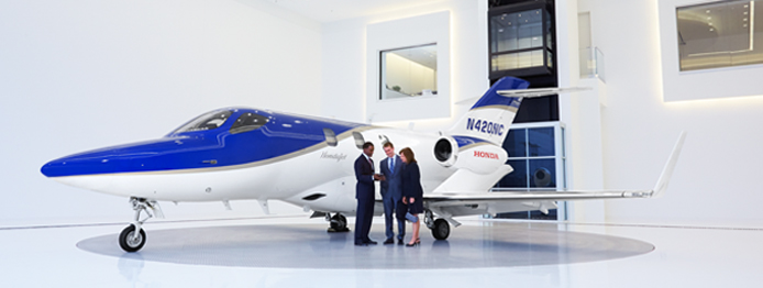 HondaJet Announces Elite Light Business Jet