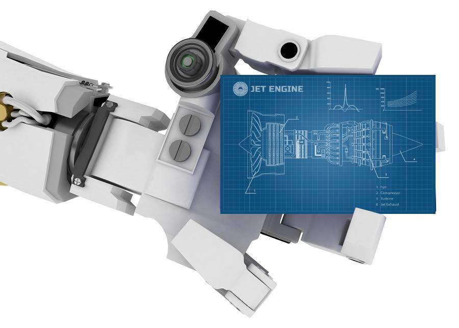 robot arm jet repair