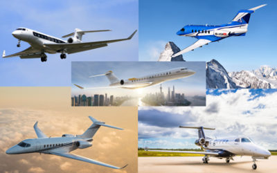 5 Private Jets Representing the Cream of the Crop in 2018